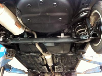 Unterboden Auto