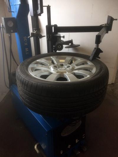 Reifen-Wechsel